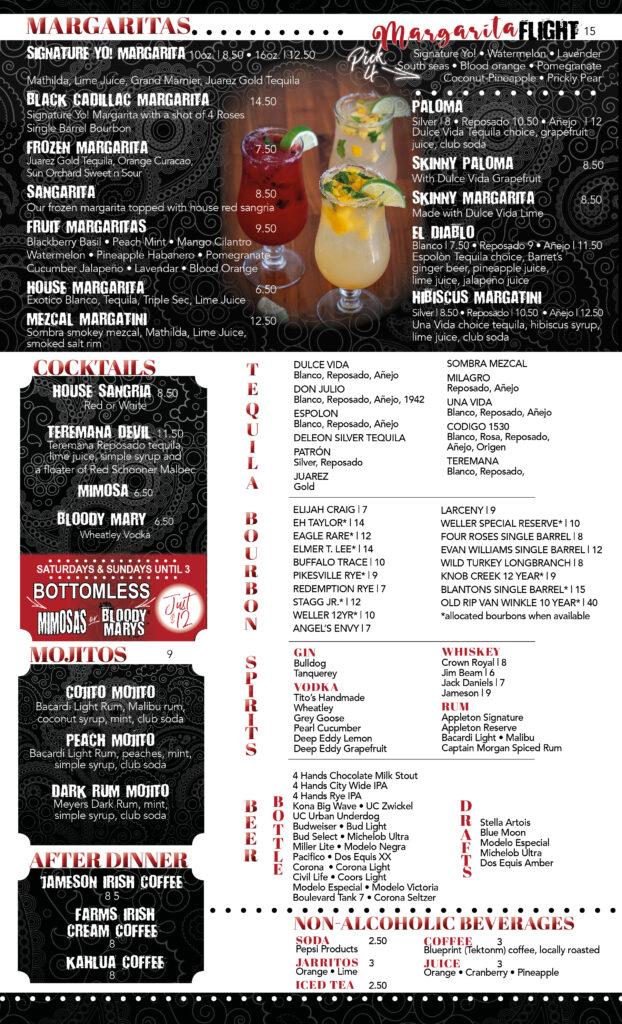 prados menu - 4
